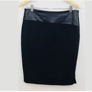 Halogen Sz 12 Womens Black Skirt Career Wear NWT